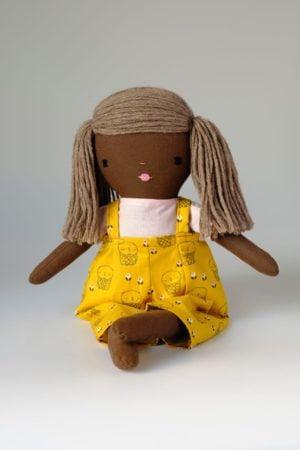Yellow Bonnie Dolls