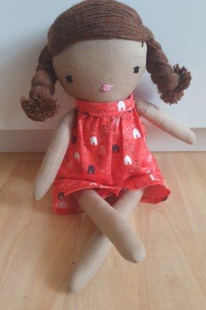 Red Bonnie Dolls